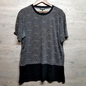 Carbon Long Lined T Shirt. Perfect Condition! Soft
